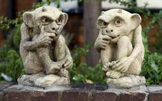 Gargoyles are making a comeback.  Ribble Reclamation have an array of stone, reconstituted stone and terracotta Gargoyles + Grotesques to suit all budgets.