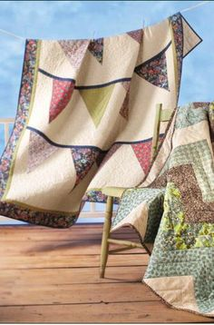 Jo-Ann Fabric and Craft Stores: Make: Banner Quilt tutorial