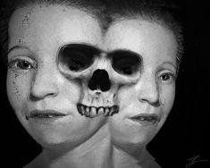 Edmond Simpson 'Conjoined' (Inspired By Hannes Hummel) After Midnight, Halloween Face Makeup, Skeletons, Skulls, Skeleton