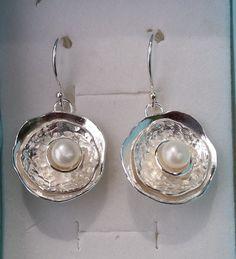 925 sterling zilveren oorbellen handgemaakt Artisan door TalyaDesign