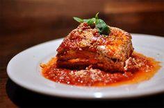 Italian parmigiana di melanzane...simply delicious!