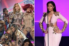 American Music Awards 2015: Nicki Minaj Throws Shade at Jennifer Lopez's 'Anaconda'