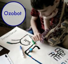 Ozobot robot review on www.TheMakerMom.com