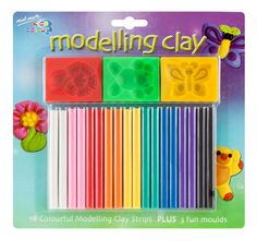 Art Shed Online - Mont Marte Kids Colour Modelling Clay Set w/Moulds Book Crafts, Arts And Crafts, Art Shed, Clay Set, Painting Accessories, Coloring For Kids, American Art, Art For Sale, Art For Kids