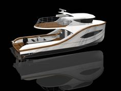 Have you been thinking about building your own boat, but think it may be too much hassle? It is true that boat plans can be pretty complicated. Make A Boat, Build Your Own Boat, Yacht Design, Boat Design, Aluminium Boats, Explorer Yacht, Camper Boat, Fishing Vessel, Deck Boat