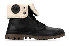 Palladium Baggy l s m (schwarz) - Stiefeletten & Boots bei Sarenza.de (77697)