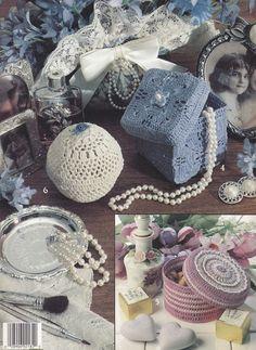 Decorative Boxes Crochet Patterns 9 Designs by PaperButtercup