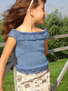 Ravelry: Marina - Leaves Top pattern by Simona Merchant-Dest