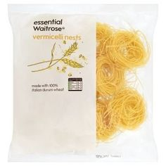 How does one get through the day without some vermicelli nests?   16 Waitrose Essential Items That Are Not Remotely Essential