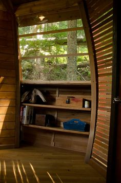 HemLoft secret treehouse hiding in the woods of whistler canada