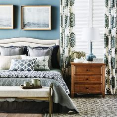 The word incredible sprung to mind when we laid eyes on this bedroom in the latest edition of 🙌🏻 Featuring a customised Heatherly bedhead and the most exquisite mix of pattern and texture, styled to perfection by Lensed by Garden Features, Upholstered Beds, Bed Head, How To Make Bed, Storage Boxes, Bedroom Furniture, Comforters, Armchair, Ottoman
