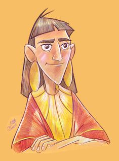 The Emperor's New Groove Fan Art: the emperor's new groove Disney Magic, Film Disney, Disney Fan Art, Disney Movies, Disney Sketches, Disney Drawings, Disney And Dreamworks, Disney Pixar, Kuzco Disney