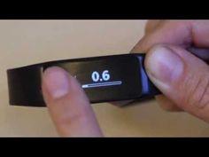 Navigating Fusion touch screen : Striiv Fusion CustomerCare