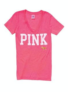 Cute summer tee! Only at PINK by VS!