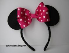 minnie mouse ears by valarie
