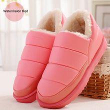 2016 mulheres botas fluff quente fino acabamento cor sólida botas mujer casual deslizamento em botas de borracha antiderrapante para os sapatos de inverno(China (Mainland))
