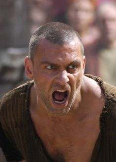 """Ray Stevenson as """"Titus Pullo"""" in Rome Loyal to the End"""