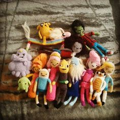 Adventure Time crochet ~ This is Nick's fave and might just get me crocheting! #crochetstitch #crochet