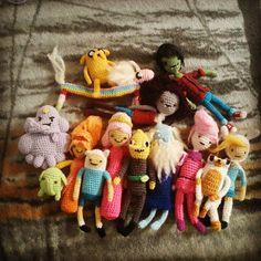 Adventure Time crochet