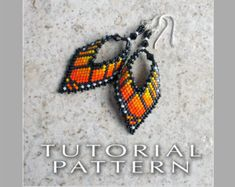 Peyote Beading Pattern : Maple Leaves Bracelet by FrancescasFancy