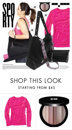 """Godashdot"" by gaby-mil ❤ liked on Polyvore featuring MPG, Edward Bess, bag, sport and godashdot"