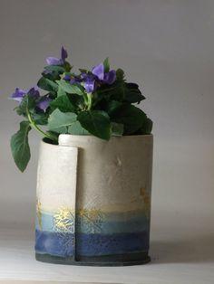 Helen Rebecca Ceramics #HandmadeatKew One Canada Square, Craft Fairs, Contemporary Design, Planter Pots, 25 March, Pottery, Clay, Vase, Ceramics