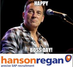 Today is #bossesday - here's our tribute #brucespringteen #theboss