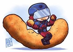 """""""Size of a Cheeto"""" by Lord Mesa"""