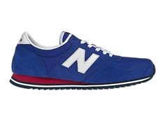 New Balance 420 - Blue with White & Red