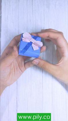 Diy Gifts Paper, Paper Crafts Origami, Diy Crafts For Gifts, Paper Crafts For Kids, Diy Crafts Hacks, Craft Tutorials, Diys, Instruções Origami, Origami Tutorial