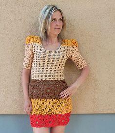 Crochet+Dress+Patterns+for+Girls | crochet dress pattern 400x463 15 Beautiful Crochet Dress Patterns to ...