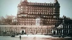 How The Grand Hotel originally looked. It went right down to the beach. East Yorkshire, Yorkshire England, Scarborough England, Butlins Holidays, Cliff Hotel, Northern England, Middlesbrough, Grand Hotel, Old Pictures