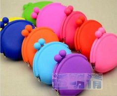 New Cute Lady/Girl/Women Silicone Coin Purses Wallet Rubber Wallets Bag Case-in Wallets from Luggage & Bags on Aliexpress.com