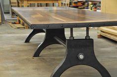 Hure Conference Table | Vintage Industrial Furniture