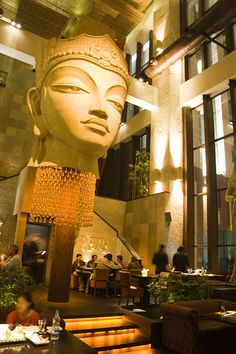 Shiro a lounge bar in Bangalore -  Japanese, Chinese and Balinese elements come together to create a magical experience