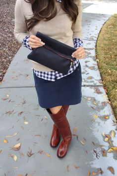 Sexy Winter Skirt Outfit Ideas (33)
