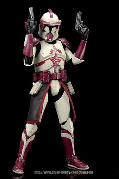 Sideshow Collectibles Star Wars Clone Commander Fox / By Mr. Elljay