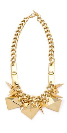 Fallon stud necklace