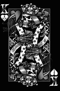 1000 images about in the kings i trust on pinterest for Suicide kings tattoo