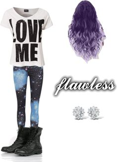 """lookin' flawless livin' flawless ~"" by veronicaze ❤ liked on Polyvore"