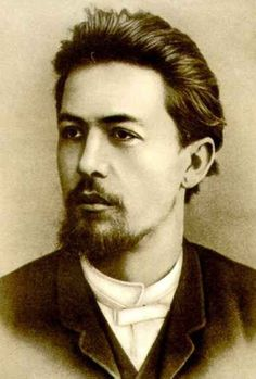 Anton Pavlovich Chekhov (1860-1904): a very handsome Russian author and playwright, 1887.