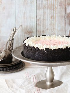 Peppermint Ice Cream Cake.