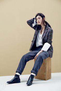 Jung Eun Jae - W Magazine February Issue 2014