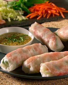 shrimp summer rolls [but i'm going to substitute the protien]