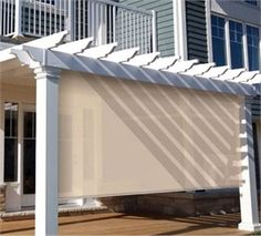 Coolaroo Exterior Privacy Curtains are perfect for patios, decks and ...