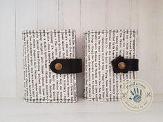 Typewriter card holder by ManoFactured on Etsy