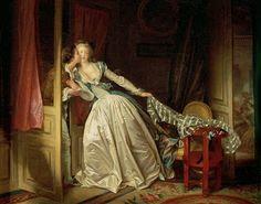 Jean-Honoré Fragonard -El beso robado