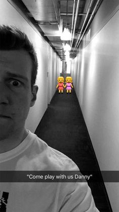 This man has made full use of the Snapchats emojis by recreating the classic terrifying sc...