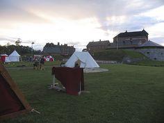 Ilta leirissä - Evening in the camp, Hämeen keskiaikamarkkinat 2014 - Häme Medieval Faire 2014, © Piela Auvinen