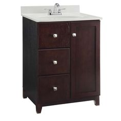 Design House Furniture Style 24 In. Single Bathroom Vanity Cabinet | From  Hayneedle.com
